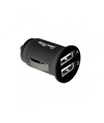 Presa USB doppia nera