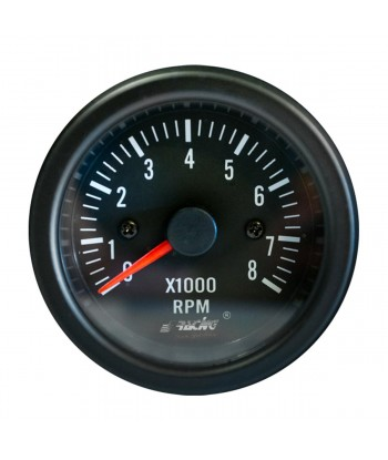 Contagiri 0-8000 RPM Black...