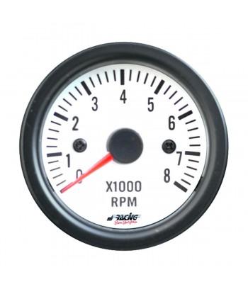 Contagiri 0-8000 RPM White...