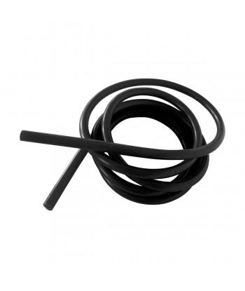 Tubo aria/acqua silicone nero