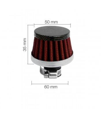Minifiltro Carbon type 3...