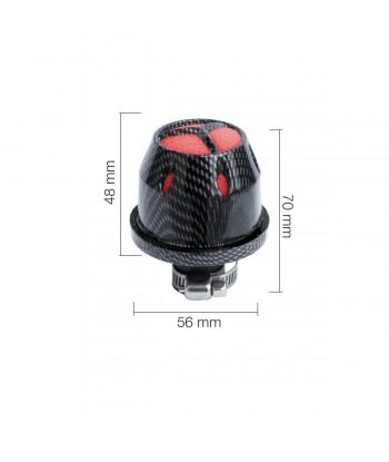 Minifiltro Carbon type 2