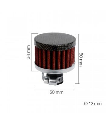 Minifiltro Carbon type 1