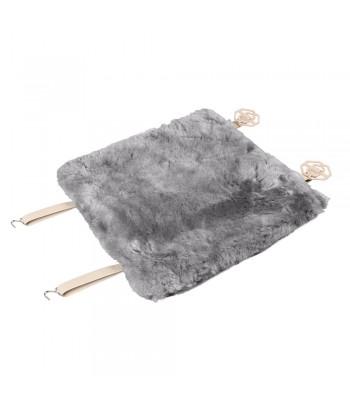 Comfort Max, coprisedile in montone - Grigio