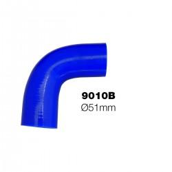 Curva 90°blu Manitor id.51mm