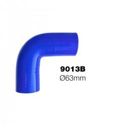 Curva 90°blu Manitor id.63mm