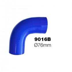 Curva 90°blu Manitor id.76mm