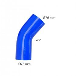 Curva blu 45°Manitor id.76mm