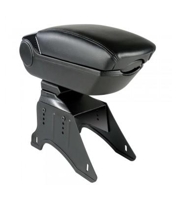 Premium, bracciolo 3 funzioni con doppio sistema di fissaggio e connessione USB, 12V - Carbon-Look