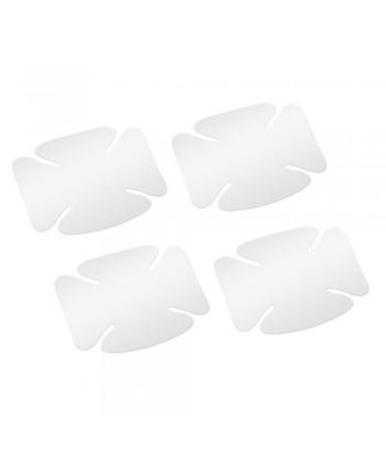 Pellicole antigraffio per incavi maniglie  set 4 pz - 10x8 cm