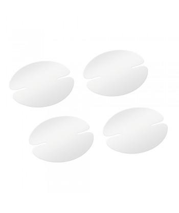 Pellicole antigraffio per incavi maniglie  set 4 pz - 9 5x8 cm