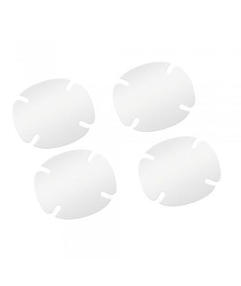 Pellicole antigraffio per incavi maniglie  set 4 pz - 8 8x8 cm