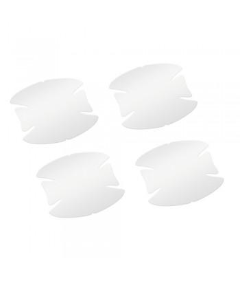 Pellicole antigraffio per incavi maniglie  set 4 pz - 8x8 cm