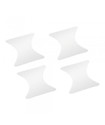 Pellicole antigraffio per incavi maniglie  set 4 pz - 8 5x8 cm