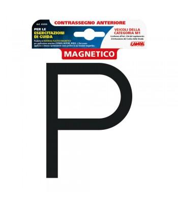 Contrassegno per esercitazioni guida  magnetico - Anteriore