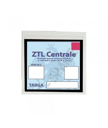 Basic, porta certificato adesivo