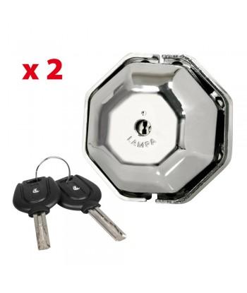 Vigilant, kit 2 serrature aggiuntive per porte veicoli commerciali
