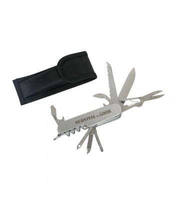 11 in 1 coltello tascabile survival multifunzione