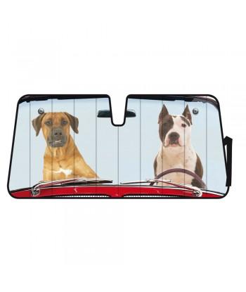 Scudo termico per parabrezza - 68x147 cm - Two Dogs