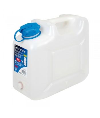 Tanica in polietilene con rubinetto per uso alimentare - 12 L