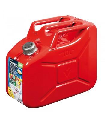 Premium, tanica carburante in metallo - 10 L - Rosso