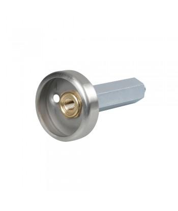 Adattatore GPL - Dish (Italia) - M10 - 108 mm - Acciaio inox
