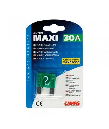 Fusibile lamellare Maxi, 12/32V - 30A