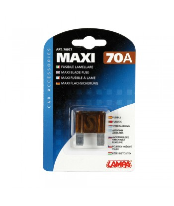Fusibile lamellare Maxi, 12/32V - 70A