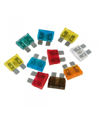 Set 10 fusibili lamellari assortiti, 12/32V