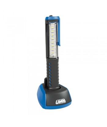 Pro-Lamp, lampada lavoro ricaricabile a LED SMD - 230V/USB