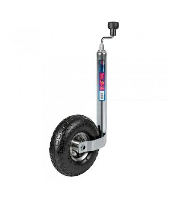 Servotimone per rimorchi e roulotte, ruota gonfiabile Ø 260 mm
