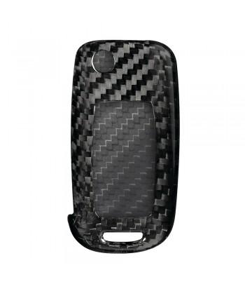 Cover in fibra di carbonio per chiavi auto, conf. singola - Seat, Skoda, Volkswagen - 1