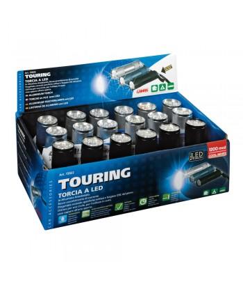 Touring, torcia a 9 Led, 1200 Mcd - Display 18 pz