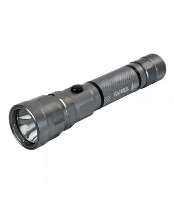 Patrol-Led, torcia a Led in alluminio - Maxi - 3W