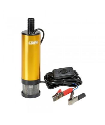 Pompa aspira liquidi elettrica ad immersione, 12V - 30 L/min