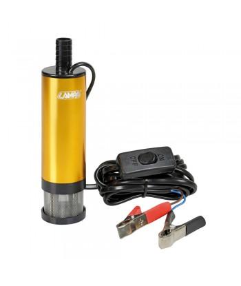 Pompa aspira liquidi elettrica ad immersione, 12V - 12 L/min