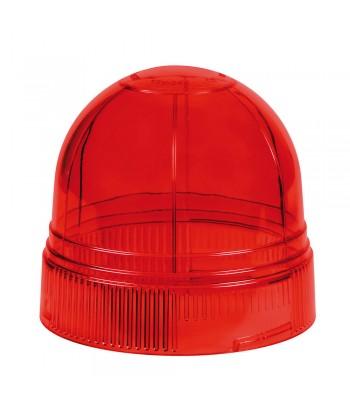 Calotta ricambio per luce di segnalazione art. 72997 / 72998 / 73007 - Rosso