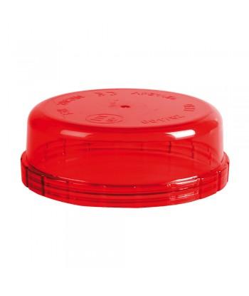 Calotta ricambio per luce di segnalazione art. 72990 / 72991 - Rosso