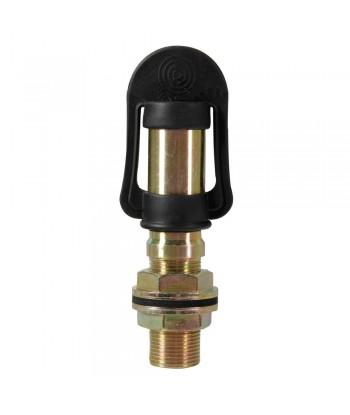Fix-2, Perno con spinotto DIN per luce di segnalazione, attacco tubolare