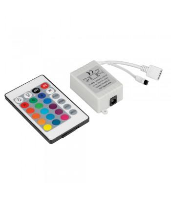 Centralina di controllo per striscia a Led RGB con telecomando - 12V