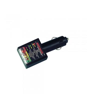 Tester a led per batteria 12V