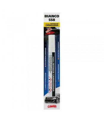 Penna ritocco carrozzeria - Bianco - 558
