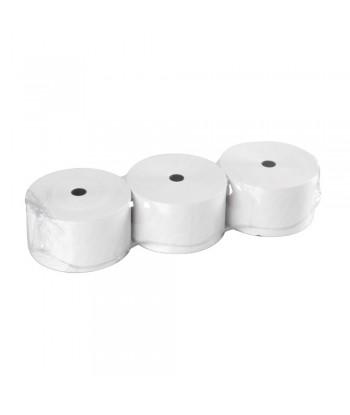 Rotoli carta termica per colonnine aree di servizio, 3 pz - 75 g/m² - 57 mm x 91 m
