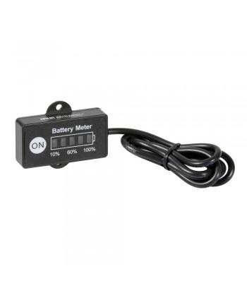 Indicatore di carica a Led per batteria, 12V