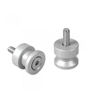 Coppia supporti cavalletto - 6x1 mm - Alluminio
