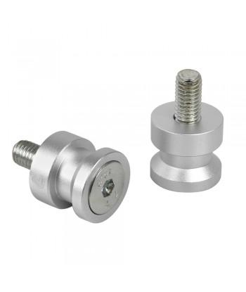 Coppia supporti cavalletto - 8x1,25 mm - Alluminio