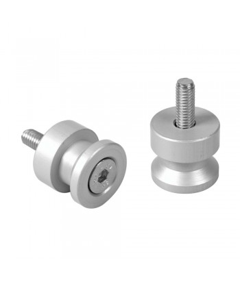 Coppia supporti cavalletto - 10x1,25 mm - Alluminio