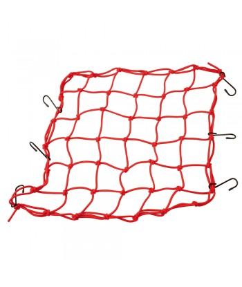 Spider, rete elasticizzata - Rosso
