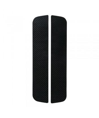 Carbon-Look, profili battitacco portiera adesivi - 300x55 mm