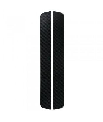 Carbon-Look, profili battitacco portiera adesivi - 480x55 mm